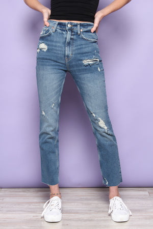 Free People Hi Slim Straight - Heart And Soul