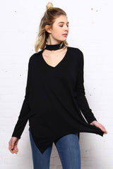 On The Move Choker Top