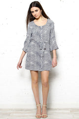 BB Dakota Zaire Flare Sleeve Dress