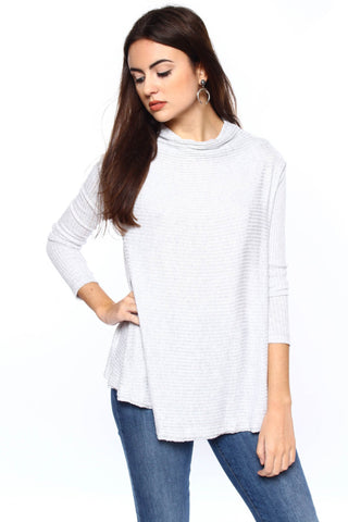 Free People Lover Ribbed Thermal Top