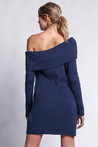 Somedays Lovin Like A Melody Knit Dress - Midnight