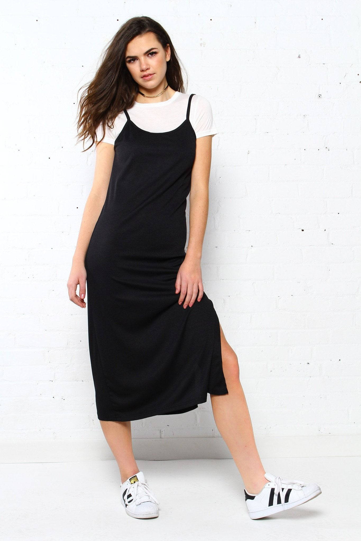 Play Your Ace Midi Dress