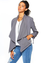 BB Dakota Cielo Draped Jacket