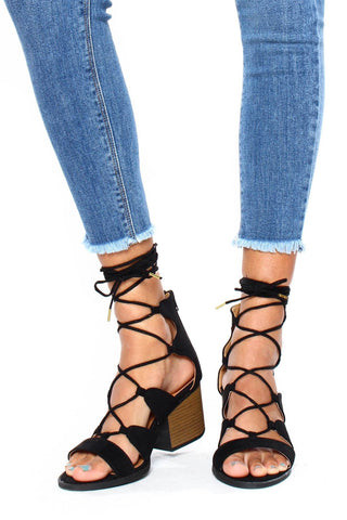 Core Lace-Up Heel