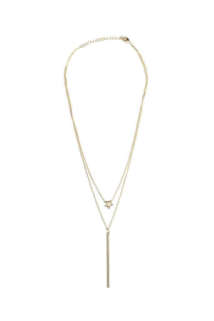 First Light Layered Necklace - Gold
