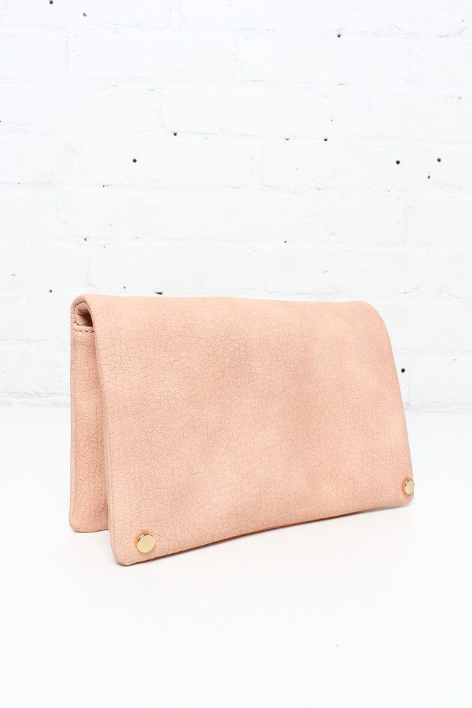 Lara Convertible Clutch - Peach