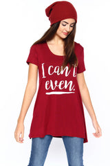 Can't Even Tunic Tee