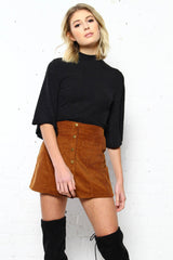 Good Intentions Corduroy Skirt