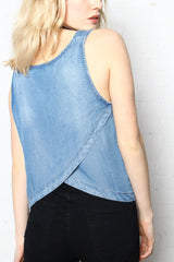 BB Dakota Tamala Chambray Tank