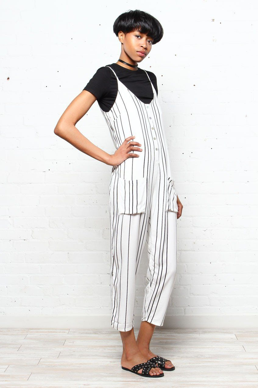 MINKPINK Vivi Button Up Jumpsuit