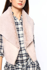 BB Dakota Pryor Faux Fur Vest