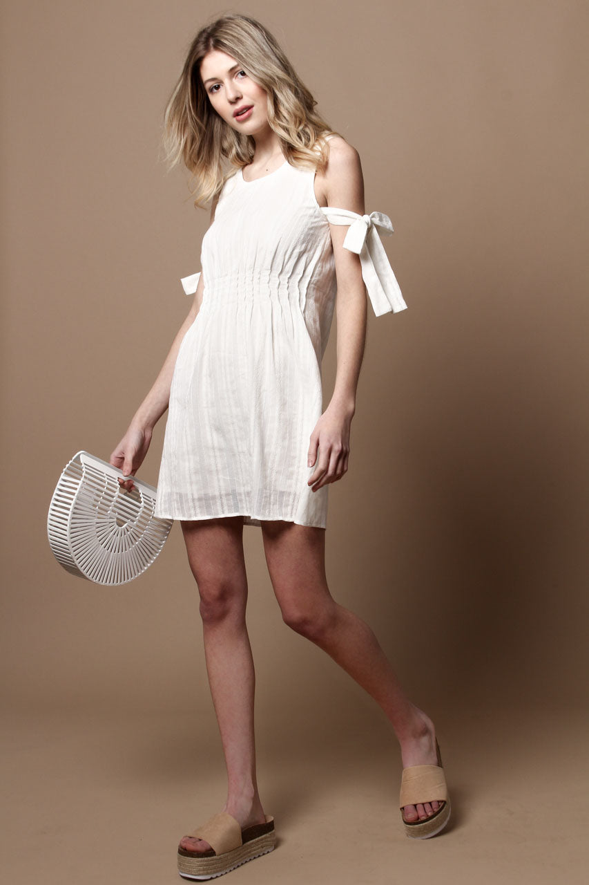 Lucca Daisy Sleeve Tie Dress