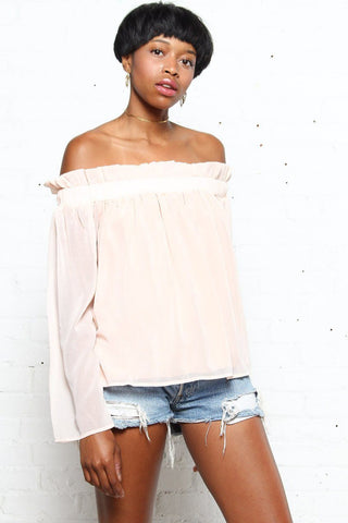 Lucca Leyla Long Sleeve Tube Top