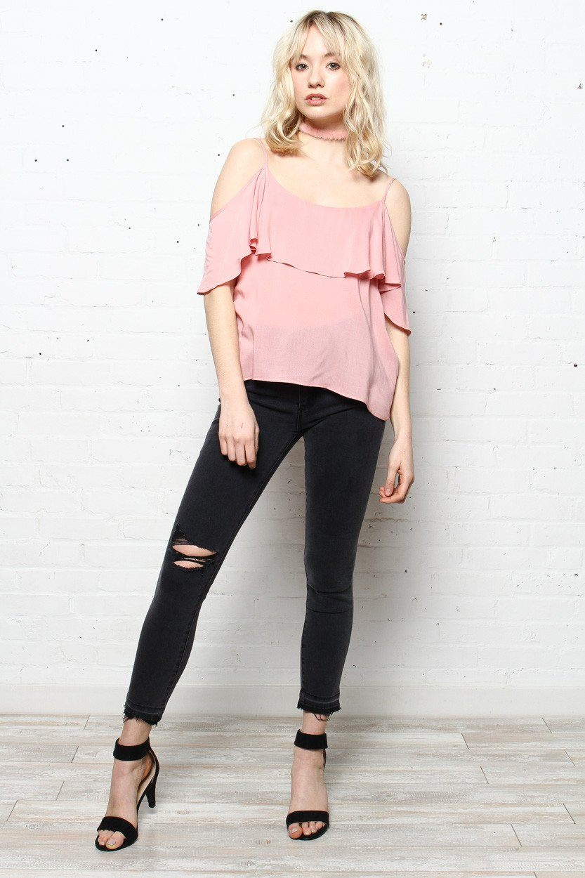 BB Dakota Delafield Off The Shoulder Blouse