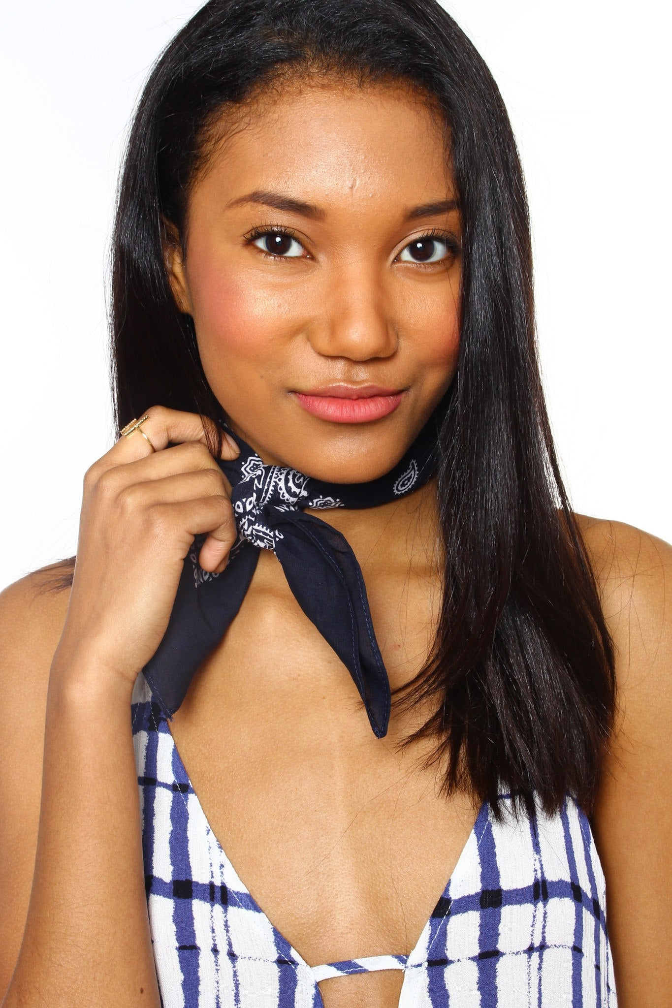 Not So Basic Bandana - Navy