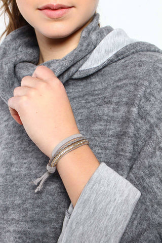 Not So Simple Bracelet - Gray