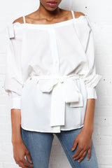 JOA Nine To Five Button Down Top