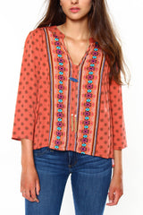 BB Dakota Bathilda Printed Top