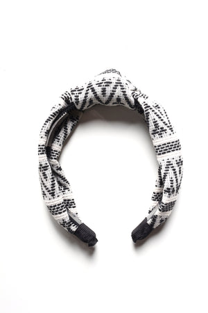 Tribal Print Knot Headband