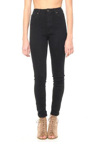 Stay High Regular Highwaist Skinny Jean - Black