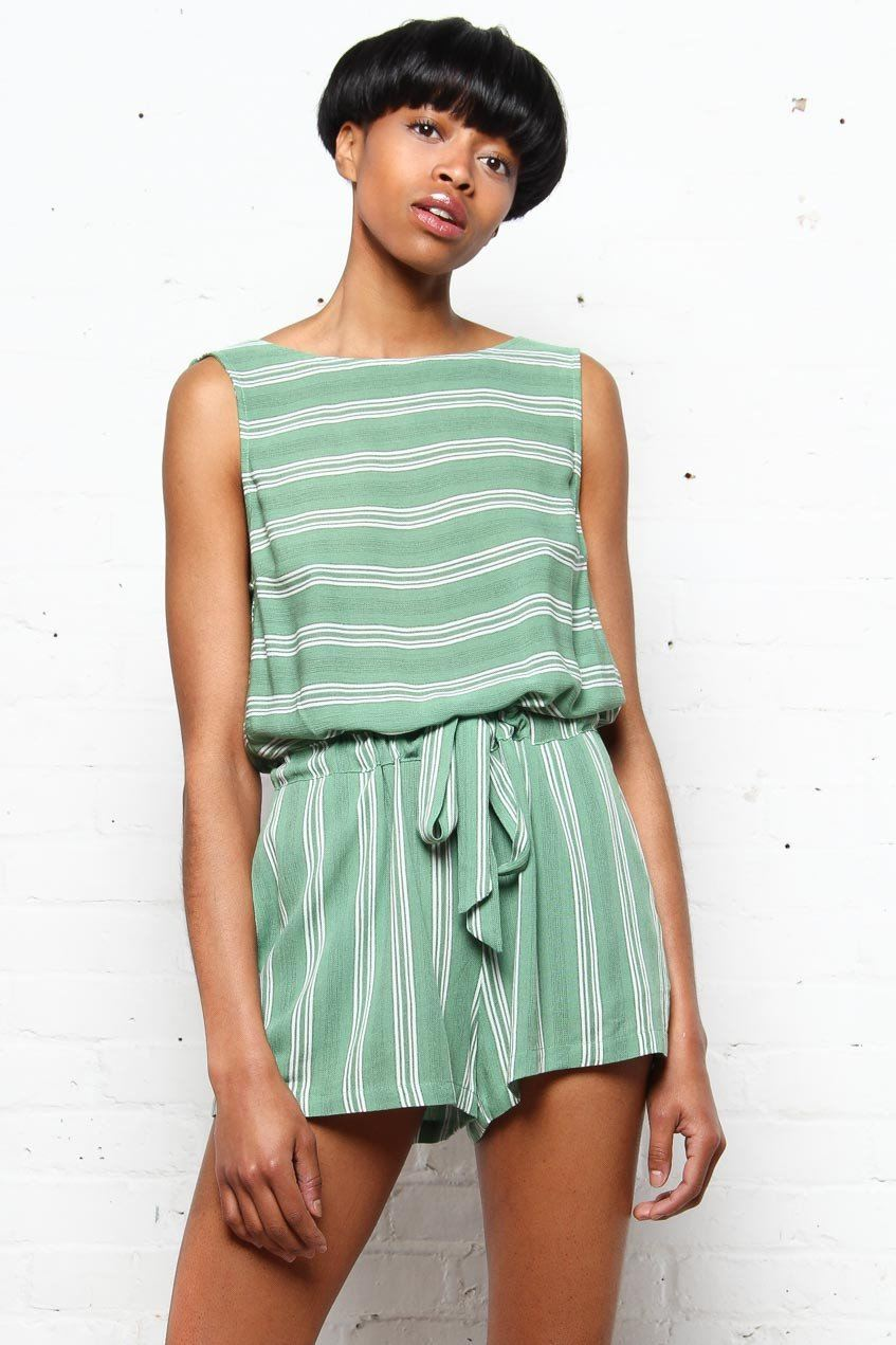 MINKPINK Traveller Playsuit