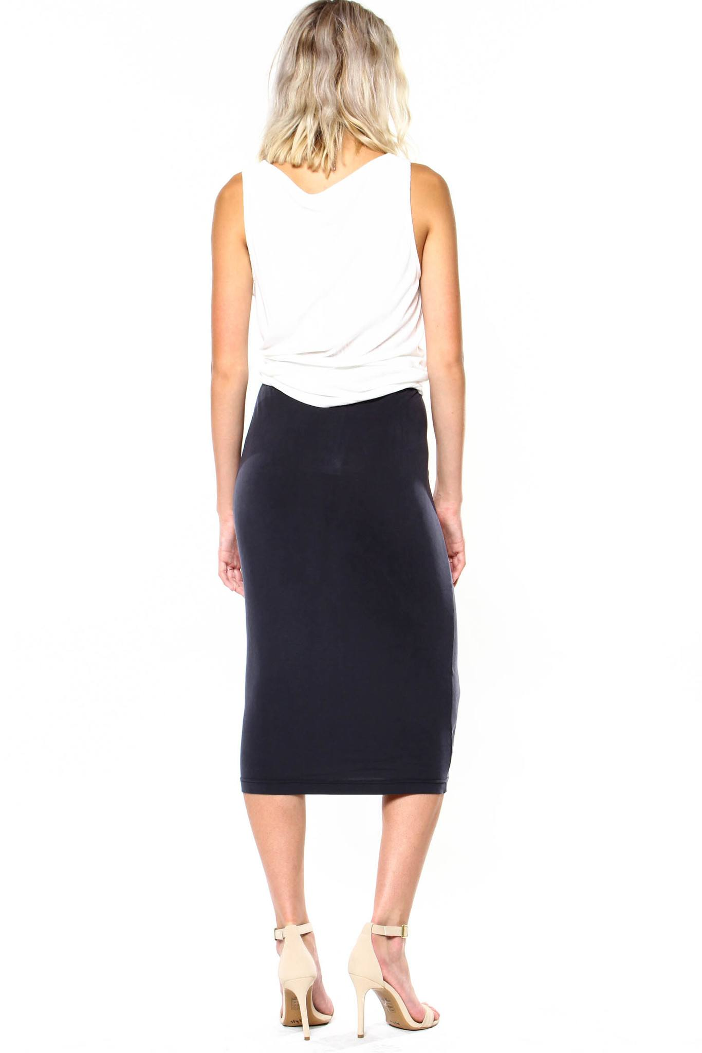 BB Dakota Auburny Pencil Skirt