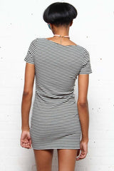 Motel Memory Ribbed Bodycon