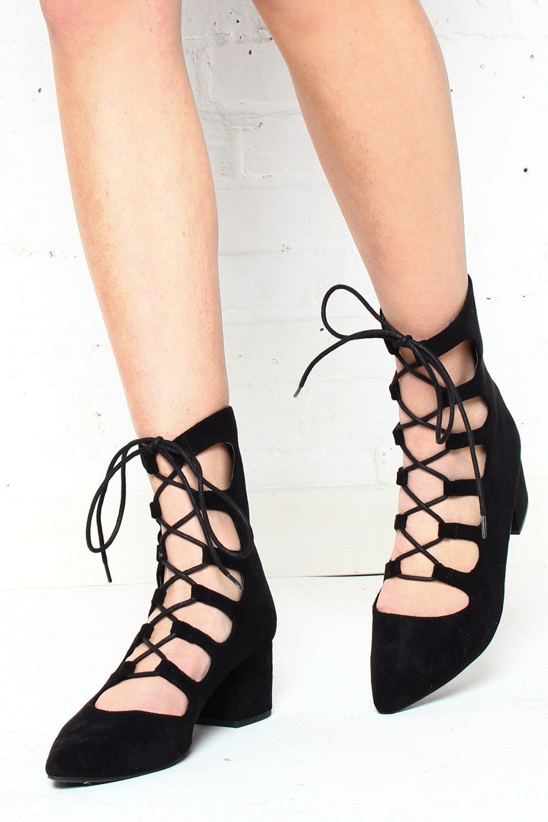 Matisse Sonia Lace Up Heels