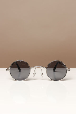Wire Circle Sunnies - Silver