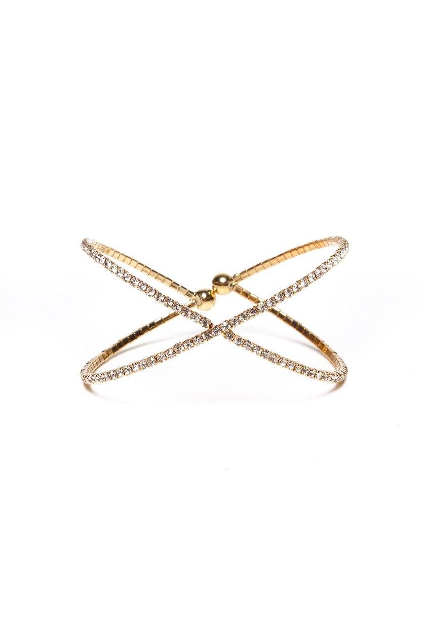Parting Ways Cuff - Gold