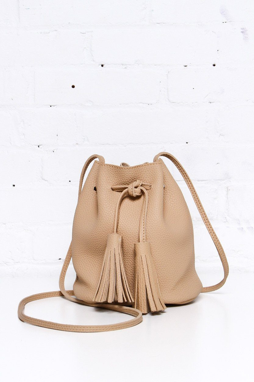 Bucket List Bag - Tan