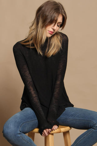 Free People Weekends Snuggle Top