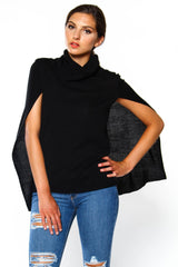 BB Dakota Ames Knit Cape