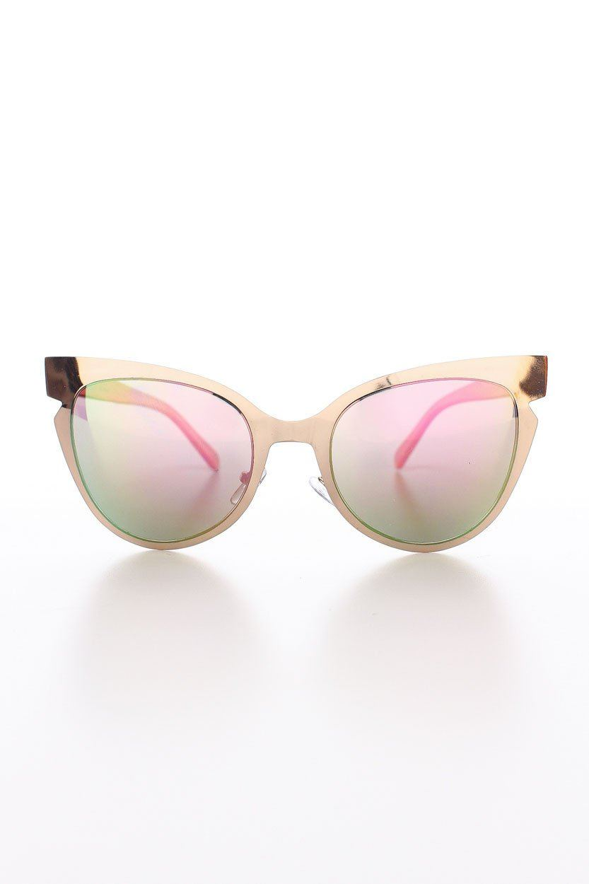 Gold Buns Sunnies - Rose Gold