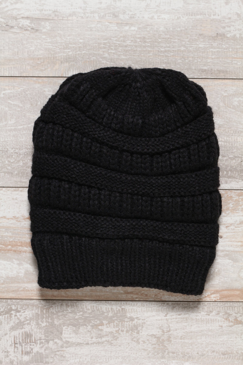 Warm Up Fur Lined Beanie