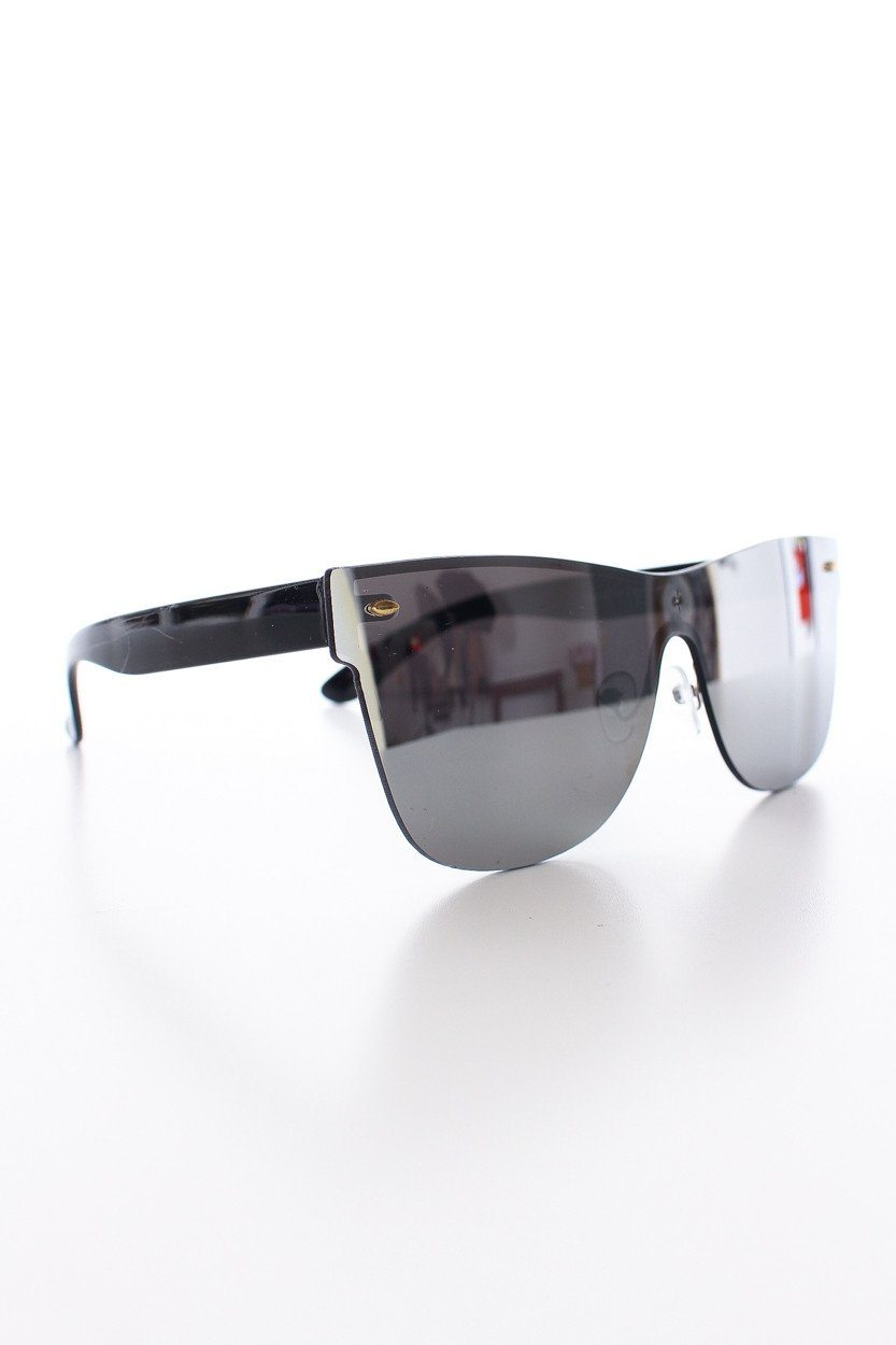 Future Mirror Shades - Silver
