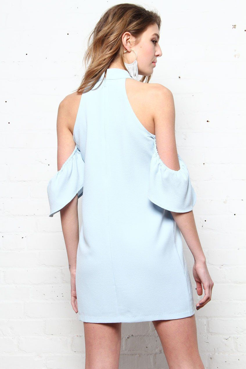 In The Open Cold Shoulder Dress