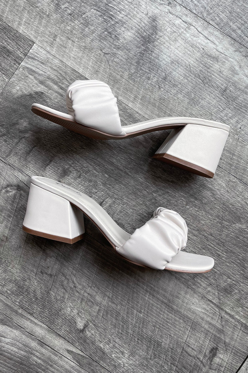 Let's Brunch Block Heel Sandals