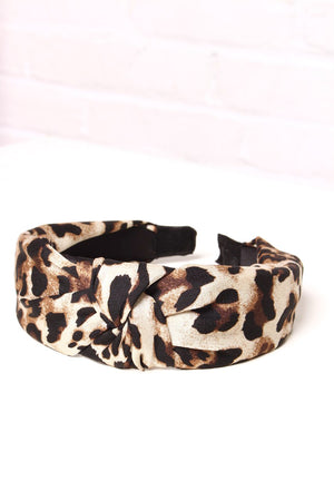 Wild Side Knotted Headband