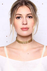 Spread Thin Mesh Chain Choker