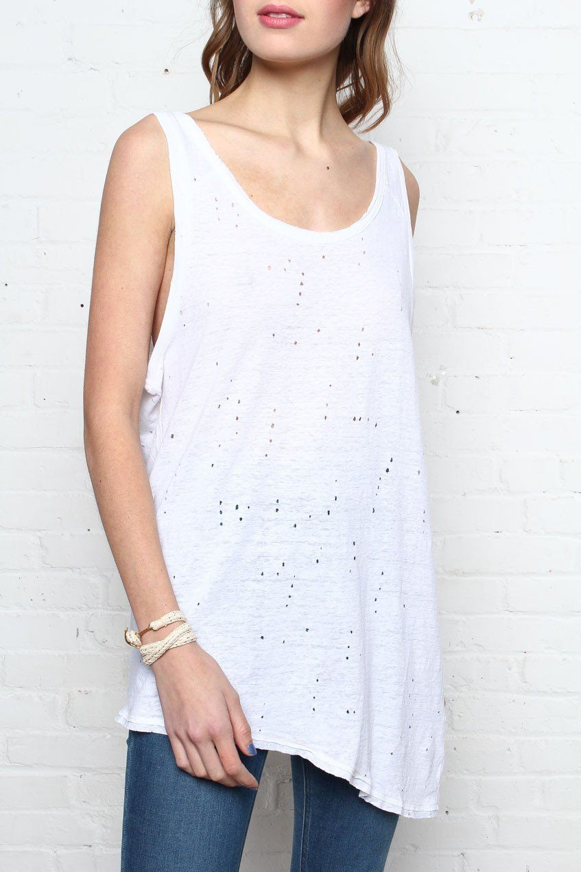 On The Edge Twist Back Tank