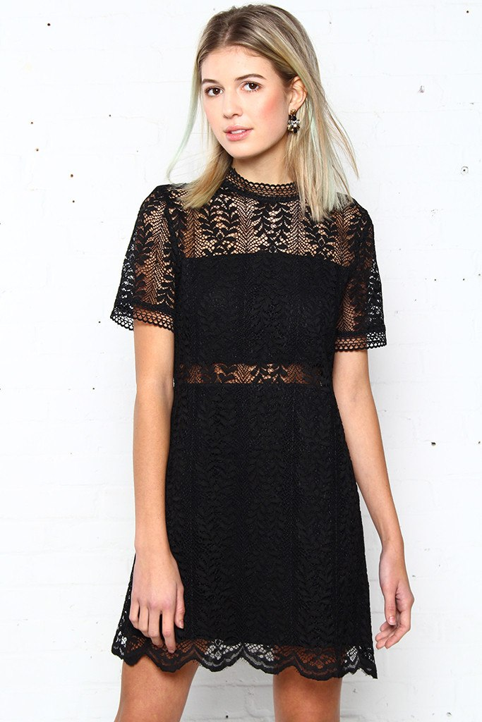 MINKPINK Tell Tale Lace Dress