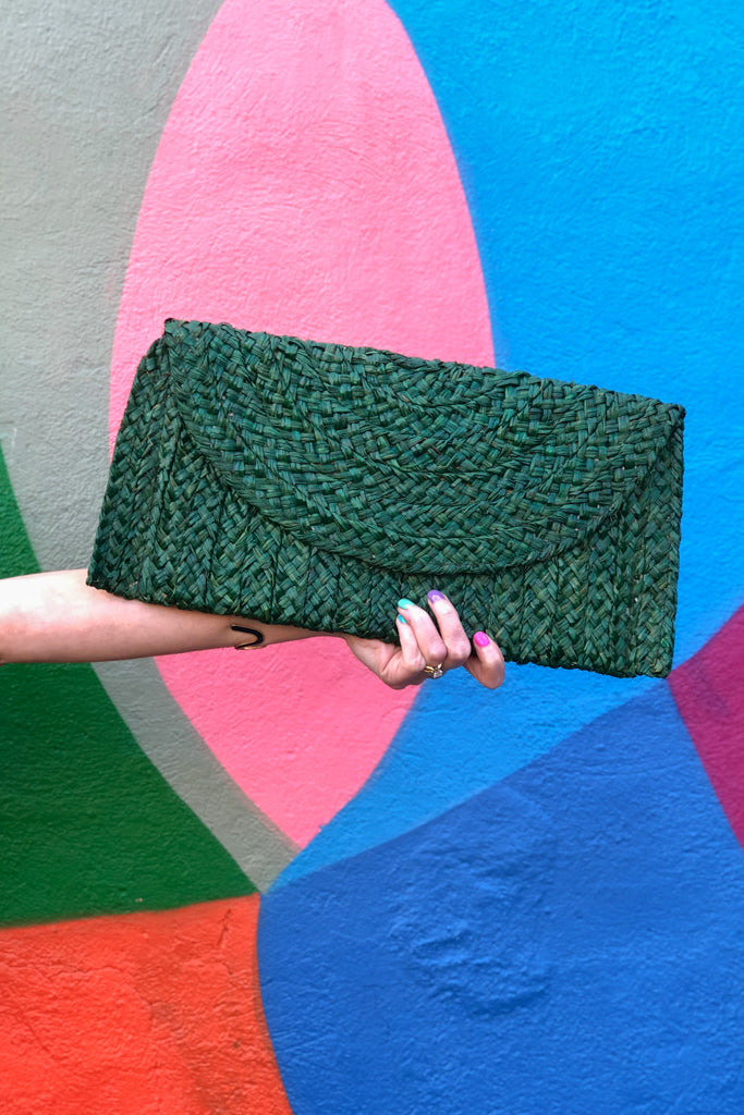 Chatham Straw Clutch