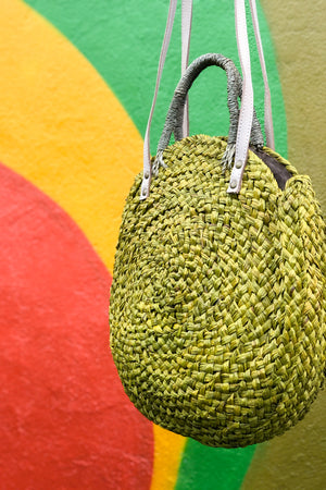 Beach Please Straw Tote