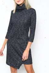 BB Dakota Noland Cowl Neck Dress