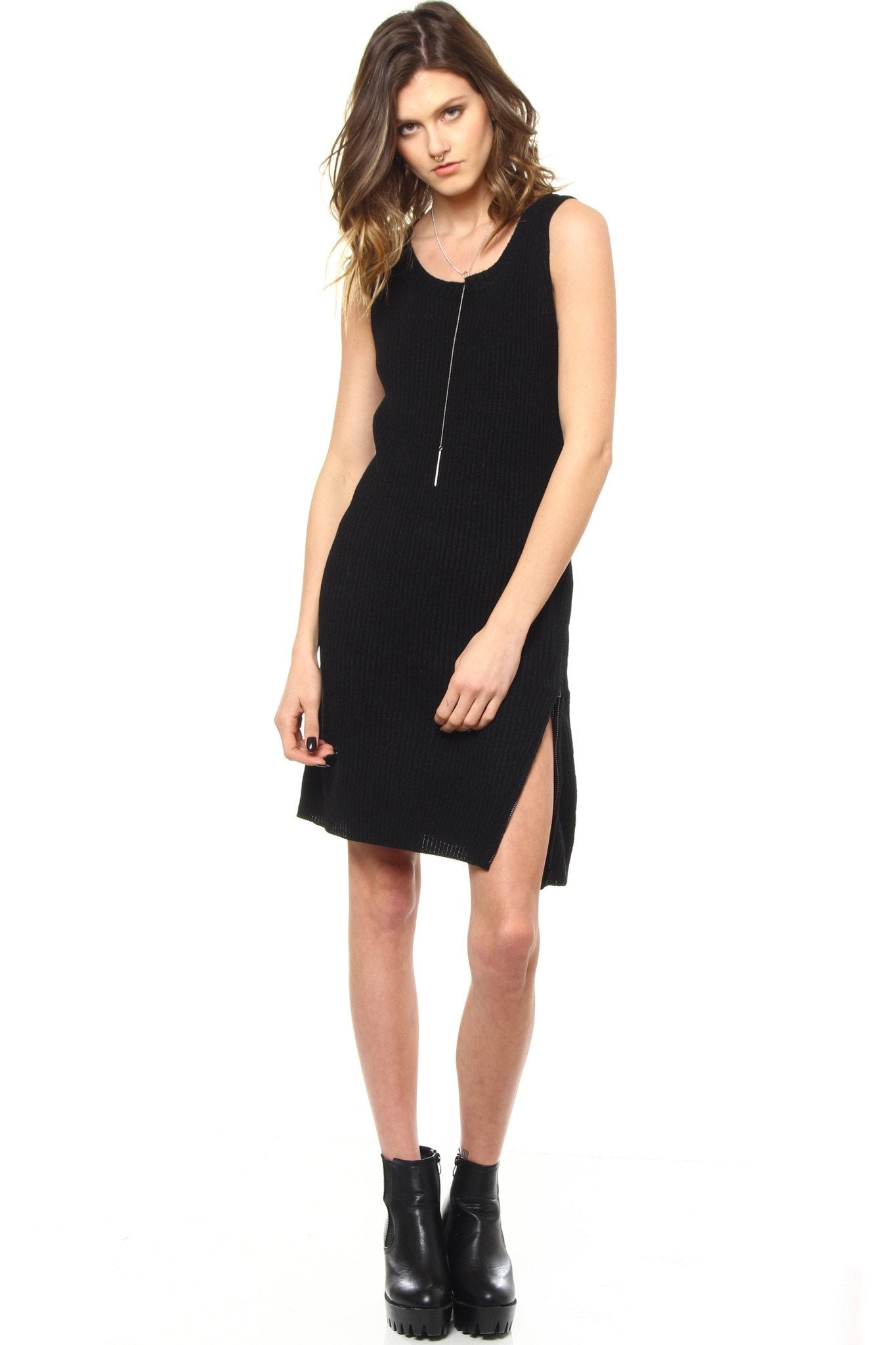 BB Dakota Alexa Zip Side Dress