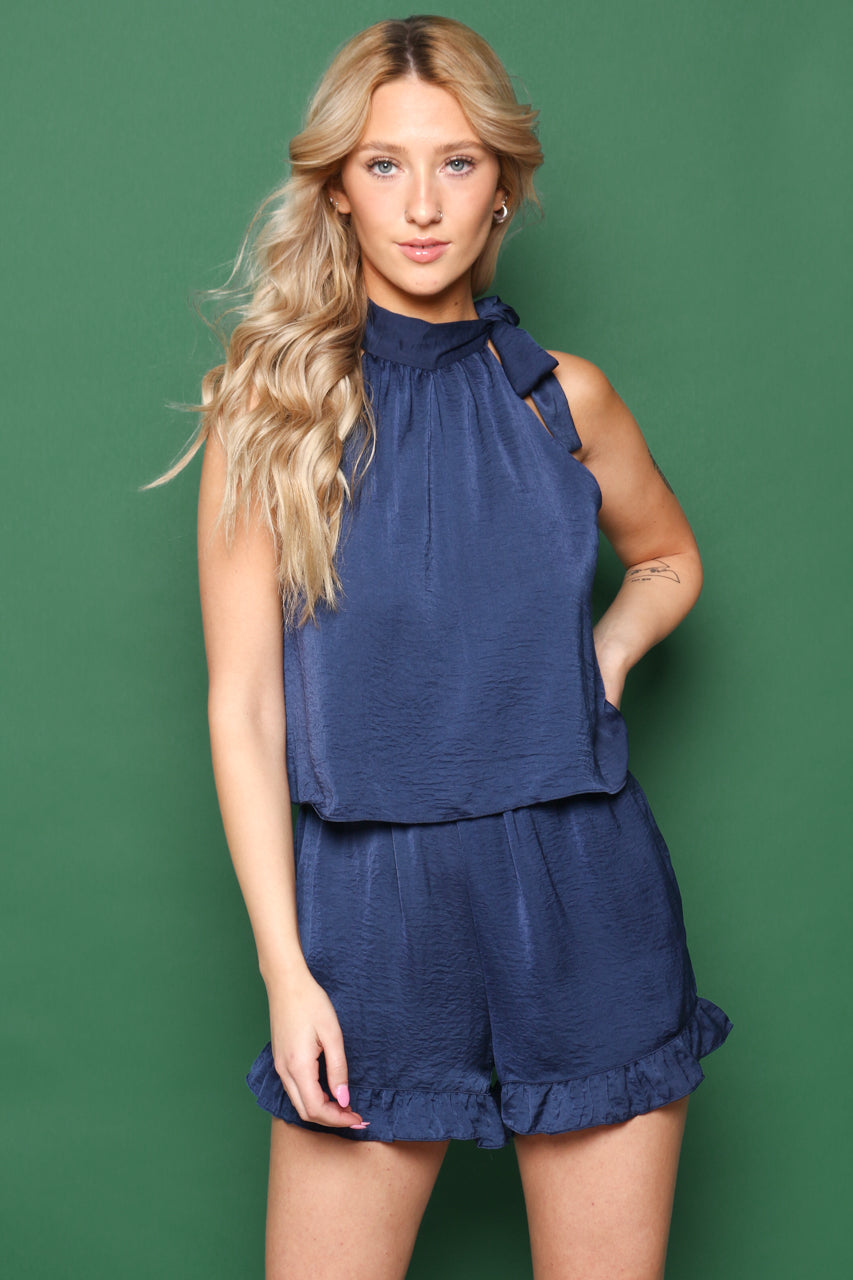 Fit To Be Tied Romper
