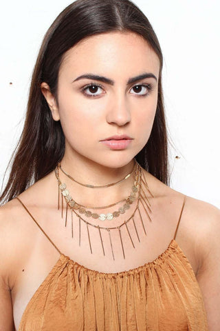 Off Guard Layered Choker