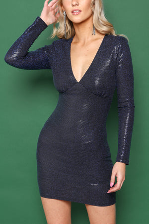 Take The Plunge Bodycon Dress