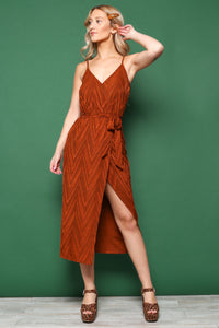 MINKPINK Strappy Wrap Dress